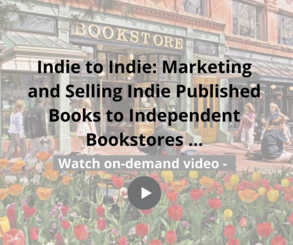 Indie Book Stores April 2020