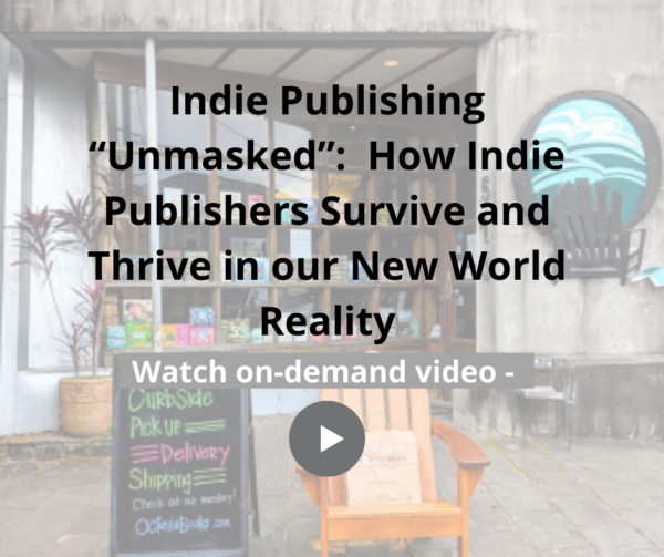 Indie Publishing Unmasked May 2020