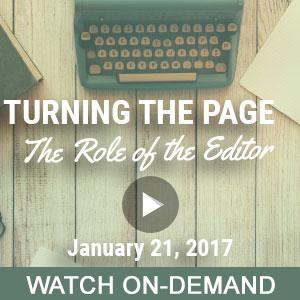 cipajan17ondemand-the role of the editor